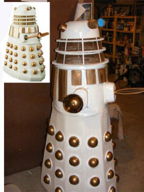 finish build of a dalek