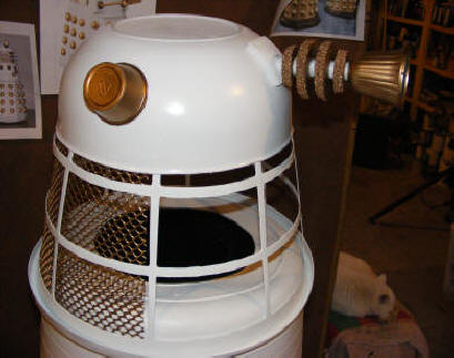 white dalek diy costume