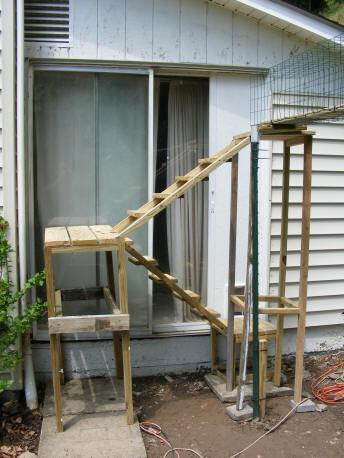 Outdoor Enclosed Catscape Cat Walkway Catio Path For