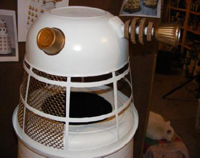 Build A Diy White Dalek Comic Con Halloween Costume For Child Youth